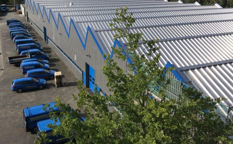 07/2019: Unsere Werkhalle in neuem Gewand